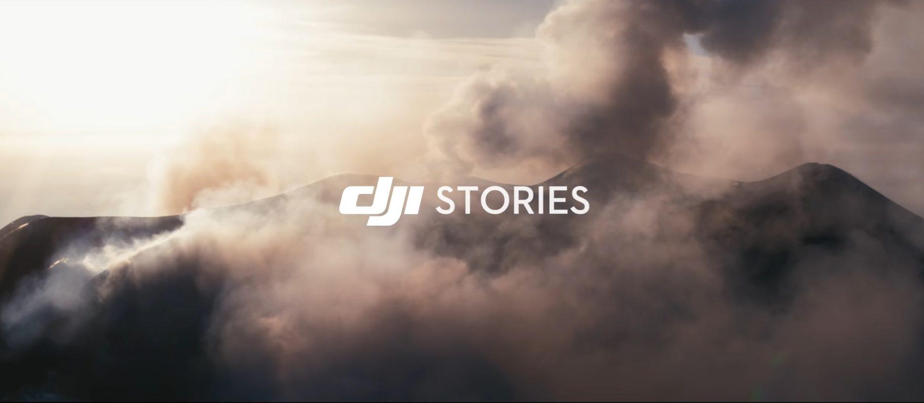 DJI Etna documentario