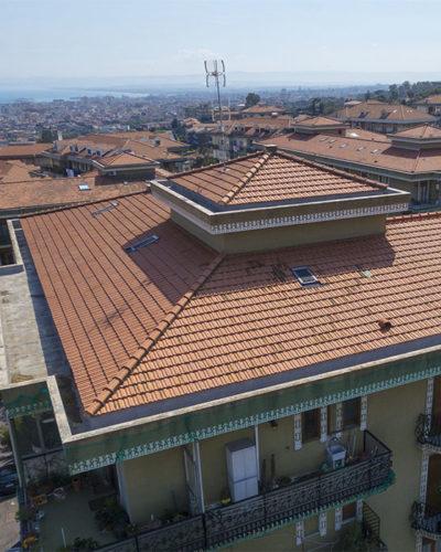 ispezione tetto panoramica